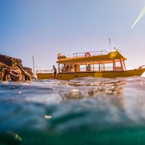 Yellow Boat Mogán