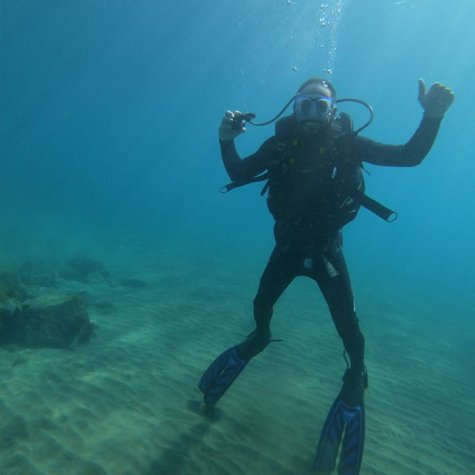 Diving for experts