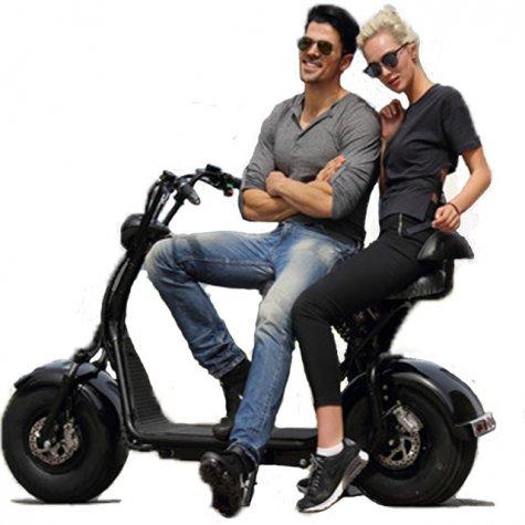 Maspalomas City Tour with e-scooter Chopper